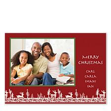 Woodland Holiday Photo Cards