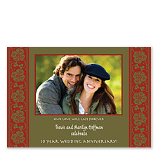 Glamour Christmas Photo Cards