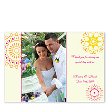 Radiant Photo Thank You Cards