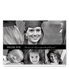 Pine Branch Graduation Thank You Cards