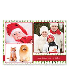 Effervescence Photo Christmas Cards