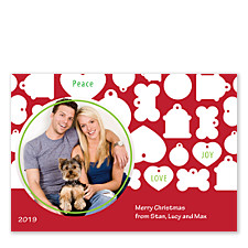Puppy Holiday Photo Cards