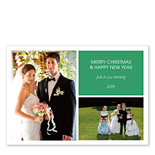 City Lights Holiday Photo Cards