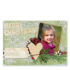 Nature Christmas Photo Cards
