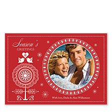 Winter Love Photo Christmas Cards