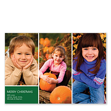 Christmas is Coming Holiday Photo Cards