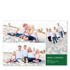 Welcome Christmas Photo Cards
