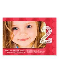 Lovable Birthday Party Invitations