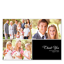 Floating Right Box Wedding Thank You Cards