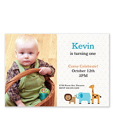 Come Celebrate Kid Party Invitations