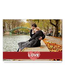 Rock My World Valentine Photo Cards