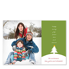 Love the Words Christmas Photo Cards