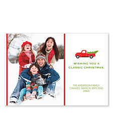 Classic Christmas Photo Cards
