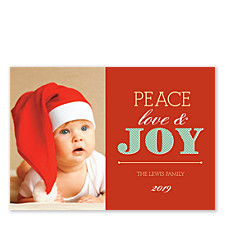 Holiday Spirit Photo Cards