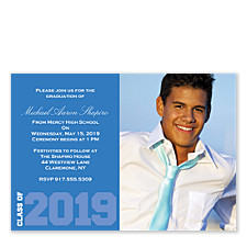 Gifted Graduation Invitation Photo Cards