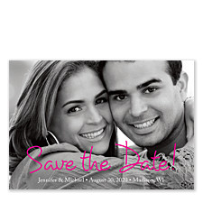 I Promise You Save the Date Cards
