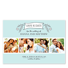 Nothing Compares to You Save the Date Cards