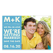 Feelings Save the Date Photo Cards