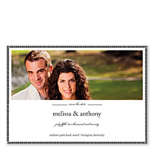 I Give My All to You Save the Date Photo Cards