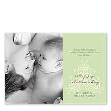 Your Special Day Mom Photo Cards