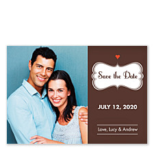 Color My World Save the Date Cards