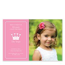 Princess Kid Birthday Party Invitations