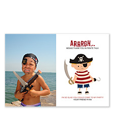 Ahoy Matey Thank You Photo Cards