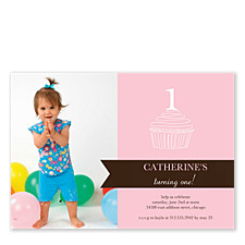 Icing on Top Kid Birthday Party Invitations