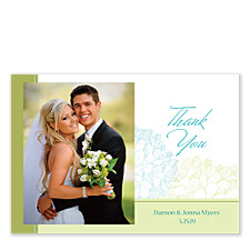 Hydrangea Thank You Cards