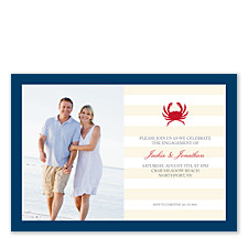 Crabfest Photo Party Invitations
