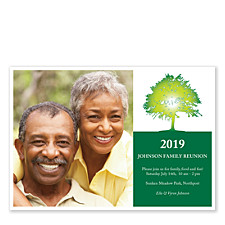 Family Tree Adult Party Invitations