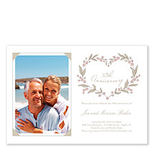 Happy Anniversary Photo Adult Party Invitations
