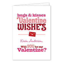 Sending Wishes Valentines Day Cards