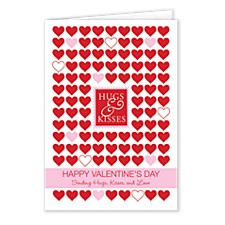Stamp of Love Valentines Day Cards