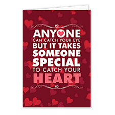 Catch Your Heart Valentines Day Cards