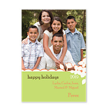 Awesome Green Holiday Photo Cards
