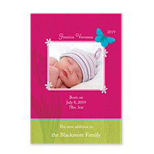 Concepts Photo Birth Announcement Cards