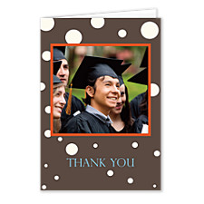 Opulence Graduation Thank You Photo Cards