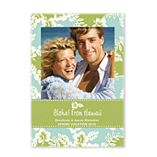 Ocean Breeze Photo Holiday Cards