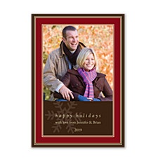 Classic Rectangles Holiday Photo Cards
