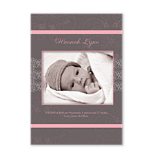 birth announcements for girls baby girl photo announcements