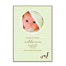 Little Ducks Birth Announcement Cards