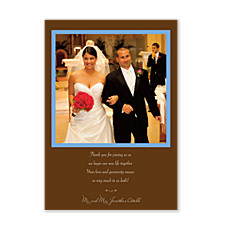 Life Together Wedding Thank You Photo Cards