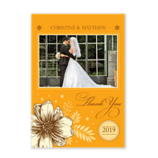 True Love Wedding Thank You Cards