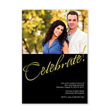 Celebrate With Us Adult Party Invitations