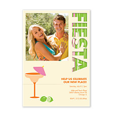 Fiesta Photo Party Invitations
