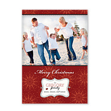 Sugar Plums Holiday Photo Cards