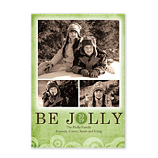 Holiday Green Photo Cards