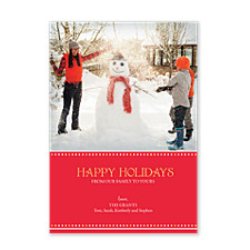 Our Best to You Christmas Photo Cards