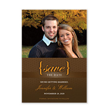 I DO! Save the Date Photo Cards